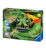 Ravensburger 18828 - Science X - Esperimenti Scientifici - Mini - Dinosauri