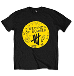 5 Seconds Of Summer - Scribble Logo (T-SHIRT Unisex )
