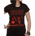 AC/DC - Highway To Hell Photo Red (T-SHIRT Unisex )
