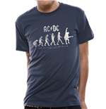AC/DC - Evolution Of Rock (T-SHIRT Unisex )