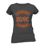 AC/DC - About To Rock Banner (T-SHIRT Unisex )