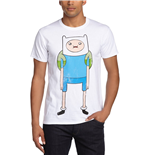 Adventure Time - Finn Print White (T-SHIRT Unisex )
