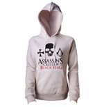 ASSASSIN'S Creed Iv - Beige (felpa Donna )