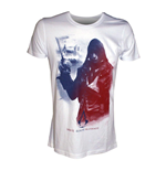 ASSASSIN'S Creed Unity - White Arno In French Flag (T-SHIRT Unisex )