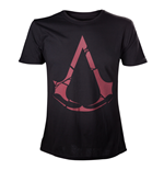 ASSASSIN'S Creed Rogue - Black Red Logo (T-SHIRT Unisex )