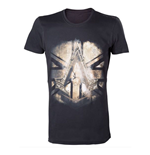 ASSASSIN'S Creed Syndicate - Black Crest British Flag (T-SHIRT Unisex )