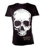 ASSASSIN'S Creed Iv - Black Skull (T-SHIRT Unisex )
