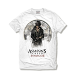 ASSASSIN'S Creed Syndicate - Jacob White Cut & Sew (T-SHIRT Unisex )