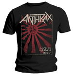 T-shirt Anthrax - Live In Japan