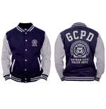 Batman - Gotham Police Department - Blu / Grigio (college Jacket )