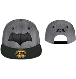 Batman V Superman - Batman Logo Cap Grey/Black (Cappellino)