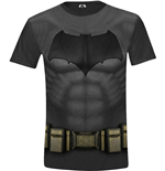 Batman V Superman - Batman Costume Full Printed Black (T-SHIRT Unisex )