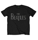 Beatles (THE) - Drop T Songs Black (unisex )