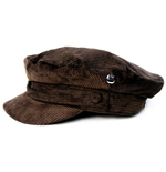 Beatles (THE) - HELP! Brown Cord With Badge Hdn (cappello )