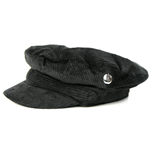 Beatles (THE) - HELP! Black Cord With Badge Hdn (cappello )