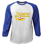 Beatles (THE) - Raglan Yellow Submarine (T-SHIRT Manica Lunga Unisex )