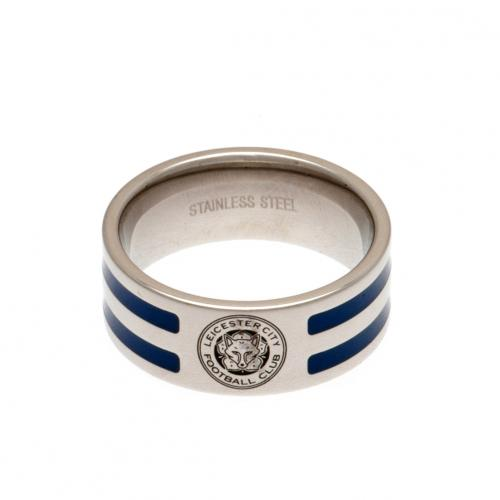 Anello Leicester City F.C. a righe