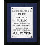 Doctor Who - Tardis Sign (Foto In Cornice 30x40cm)