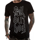 Fall Out Boy - Text Logo (T-SHIRT Unisex )