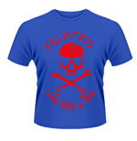 Fall Out Boy - Skull And Crossbones (BLUE) (T-SHIRT Unisex )