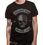 Fall Out Boy - Chicago Skull (unisex )
