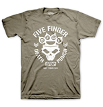 Five Finger Death Punch - Knucklehead Green (T-SHIRT Unisex )