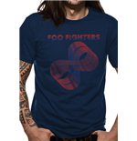Foo Fighters - Loops Logo Navy (T-SHIRT Unisex )