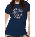 Foo Fighters - City Circle (T-SHIRT Donna )