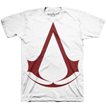 ASSASSIN'S Creed - Classic Logo White (T-SHIRT Unisex )