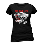 All Time Low - Find Our Way (T-SHIRT Donna )