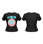 All Time Low - Candy Heart (puff PRINT) (T-SHIRT Donna )
