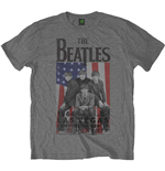 Beatles (THE) - FLAG/VEGAS Grey (T-SHIRT Unisex )