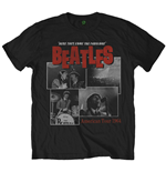 Beatles (THE) - Here They Come Black (T-SHIRT Unisex )