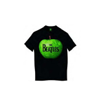 Beatles (THE) - Apple Black (T-SHIRT Unisex )