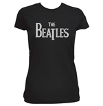 Beatles (THE) - Drop T Logo - Pink (T-SHIRT Donna )