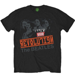 Beatles (THE) - REVOLUTION, Back In The Ussr (T-SHIRT Unisex )