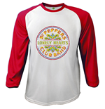 Beatles (THE) - Raglan Sgt Pepper (T-SHIRT Manica Lunga Unisex )
