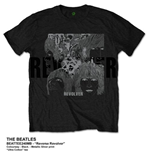 Beatles (THE) - Reverse Revolver Black (T-SHIRT Unisex )