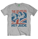Beatles (THE) - WINDSWEPT/HEY Jude Grey (T-SHIRT Unisex )
