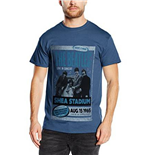 Beatles (THE) - Shea Stadium 1965 Blue (T-SHIRT Unisex )