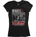 Beatles (THE) - Star Club Black (T-SHIRT Donna )