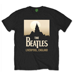 Beatles (THE) - Liverpool England Black (T-SHIRT Unisex )