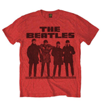 T-shirt The Beatles - Long Tall Red