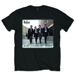 Beatles (THE) - On Air Black ((T-SHIRT Unisex )