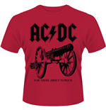 AC/DC - For Those About To Rock (T-SHIRT Unisex )