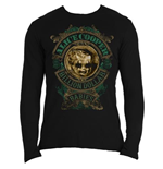 Alice Cooper - Billion Dollar Babies Crest (T-SHIRT Manica Lunga Unisex )