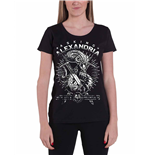 Asking Alexandria - Snake (T-SHIRT Donna )