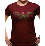 Batman Vs Superman - Wonder Woman Logo (T-SHIRT Donna )