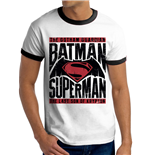 Batman Vs Superman - Text & Logo (T-SHIRT Unisex )