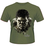 Avengers - Age Of Ultron - Hulk Face (T-SHIRT Unisex )